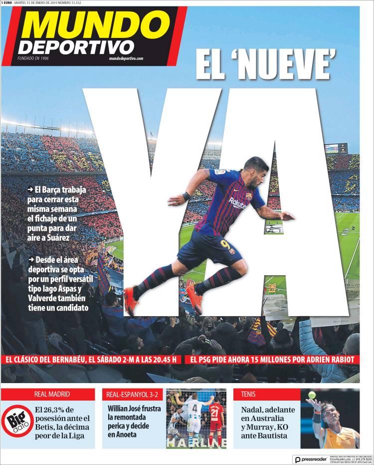 صحف إسبانيا تنشغل بأزمة ريال مدريد ومفاجأة برشلونة 43.jpg