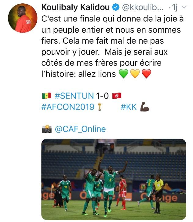 كاليدو كوليبالي يوجه رسالة دعم لمنتخبالسنغال قبل مواجة الجزائر 26
