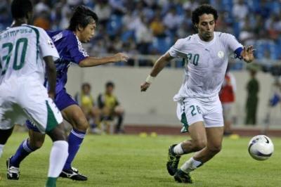 نتيجة بحث الصور عن ياسر القحطاني السعودية كاس أسيا 2007