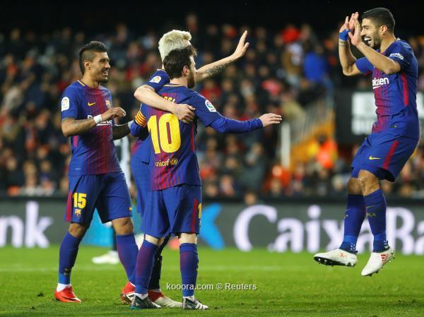 برشلونة يواجه إيبار وعقله في لندن