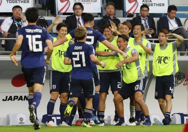 اليابان تحجز مقعدها الدور النهائي