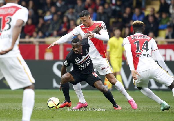 الدوري الفرنسي: موناكو يهزم نيس وينفرد بالمركز الثاني