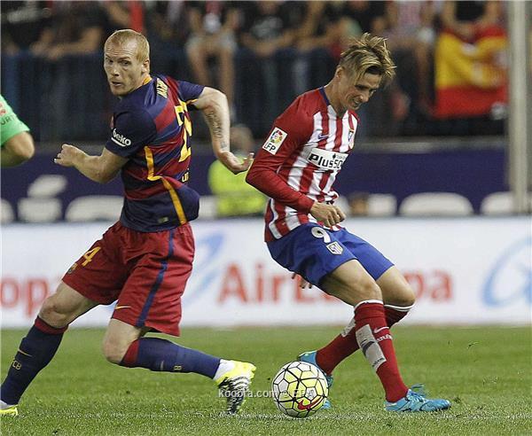 أتلتيكو مدريد يحل ضيفا على برشلونة في قمة مواجهات الليغا<br />