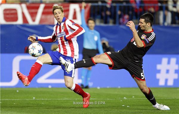 باير ليفركوزن يستدعي تألقه الأوروبي أمام أتلتيكو مدريد