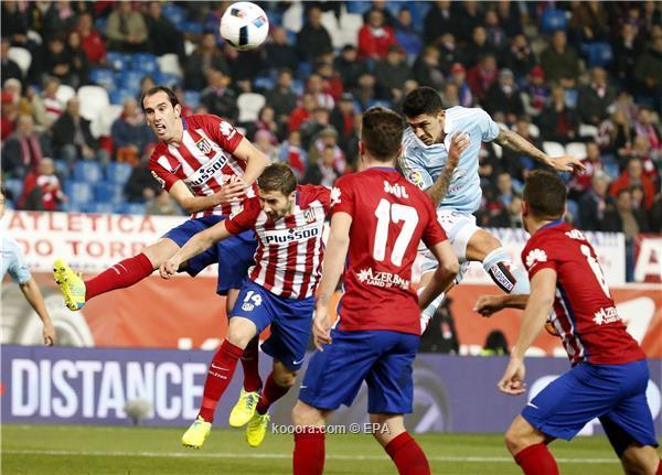 اتلتيكو مدريد يسعى لاستعادة لمسته التهديفية امام برشلونة
