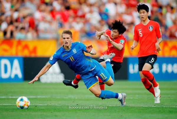 بالصور.. منتخب أوكرانيا بطلًا لمونديال