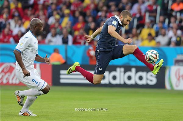 تغطية مباريات فرنسا vs الهوندوراس -الأرجنتين vs البوسنة والهرسك