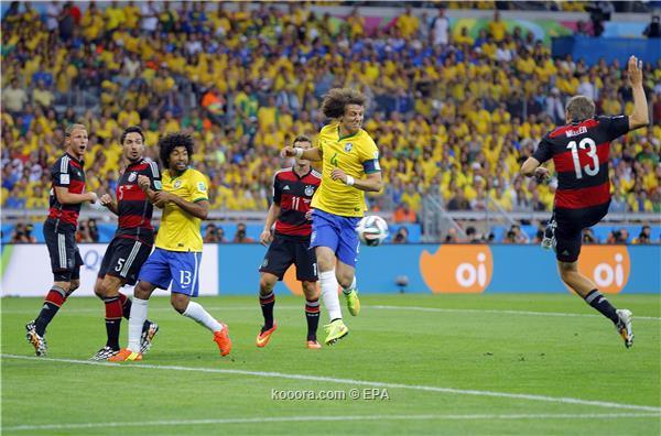 ألمانيا تذل البرازيل بنتيجة تاريخية وتتأهل لنهائي المونديال