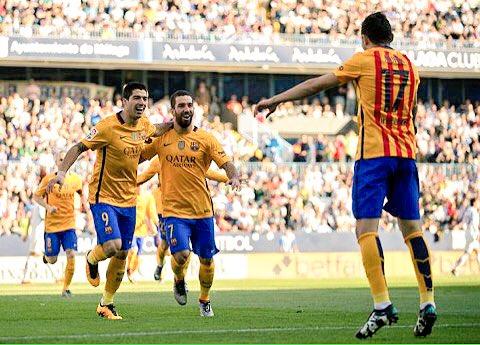 الحدادي يسجل أسرع أهداف برشلونة هذا الموسم<br />