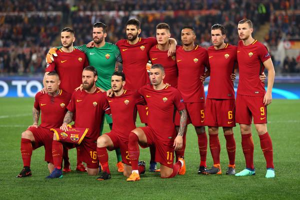 نتيجة بحث الصور عن تشكيل فريق روما