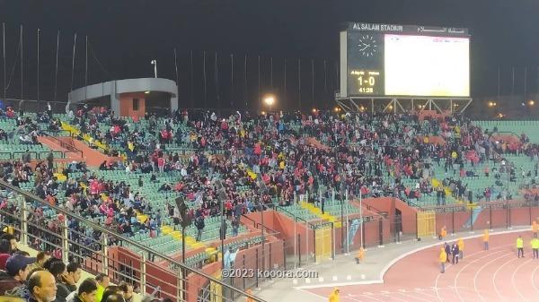 جمهور الأهلي المصري ينسحب من مباراة بلاتينيوم