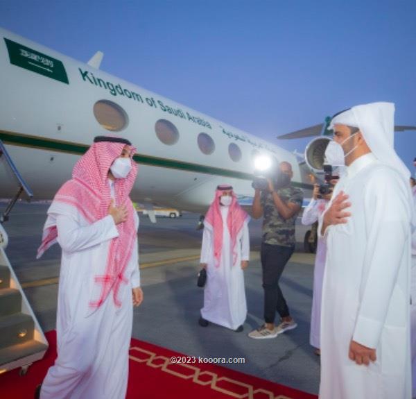 وزير الرياضة السعودي يصل الدوحة لحضور نهائي مونديال الأندية ?i=corr%2f257%2fkoo_257660
