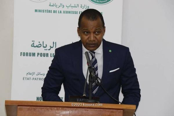ولد جبريل: القطاع الرياضي شهد نهضة شاملة