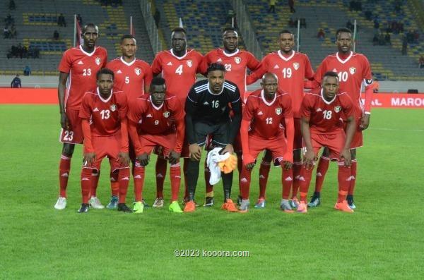 منتخب السودان يتجه السنغال