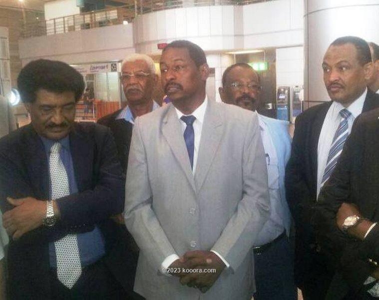 سفير السودان والامين العام للهلال