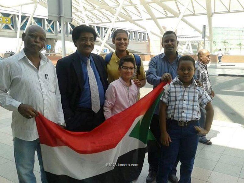سفير السودان بالقاهرة كان في الاستقبال