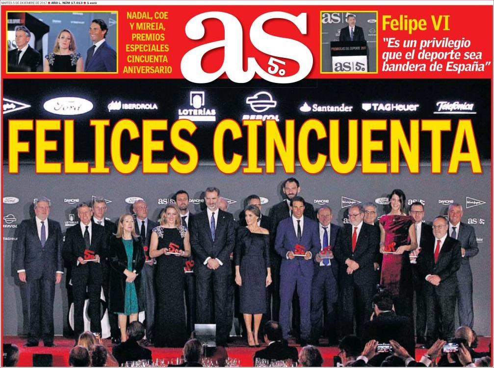 ثورة بيريز وقرار ماسكيرانو الأبرز بالصحافة الإسبانية As750