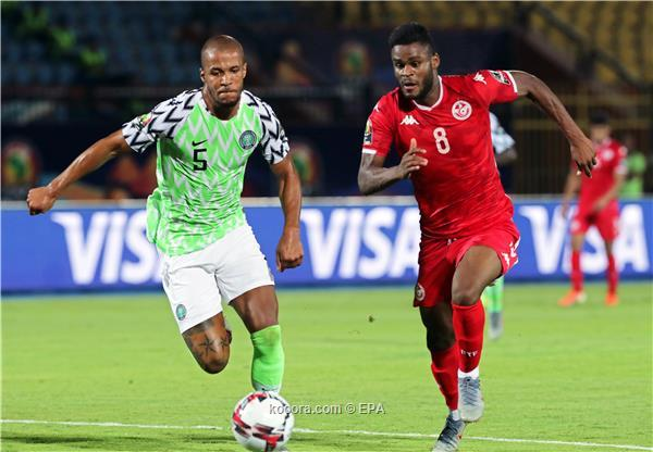 مباراة تونس ونيجيريا