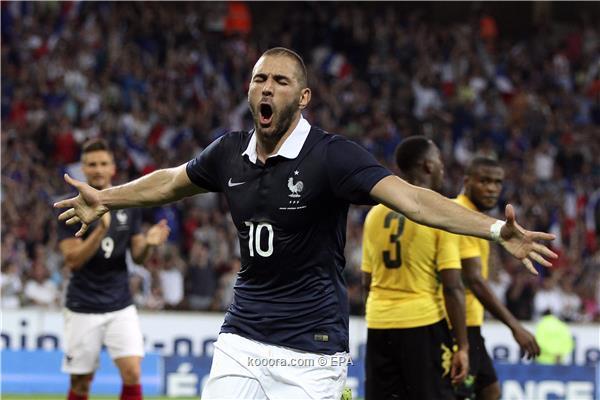 اهداف مباراة فرنسا 8 - 0 جامايكا hd تعليق جواد بده