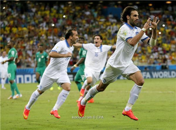 اليونان 2 vs كوت ديفوار 1 : اليونان تسرق تذكرة التأهل من كوت ديفوار وتصعد لمواجهة كوستاريكا ?i=epa%2fsoccer%2f2014-06%2f2014-06-24%2f2014-06-24-04279143_epa