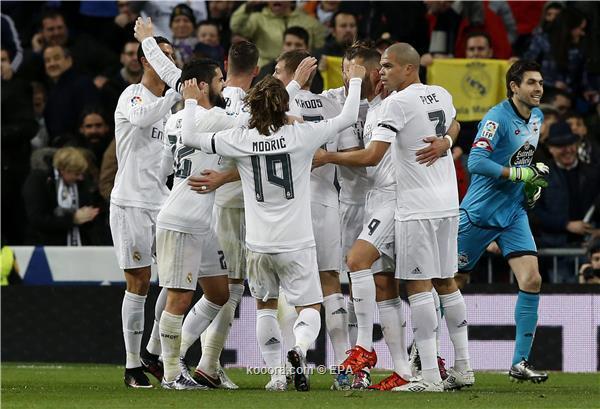 ريال مدريد يسحق ديبورتيفو في اول مباراة لزيدان<br />