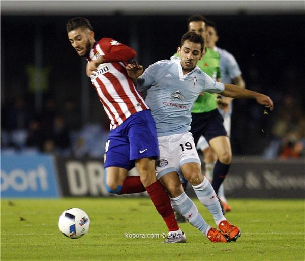 التعادل السلبي يحسم مواجهة سلتا فيجو وأتلتيكو مدريد في الكأس