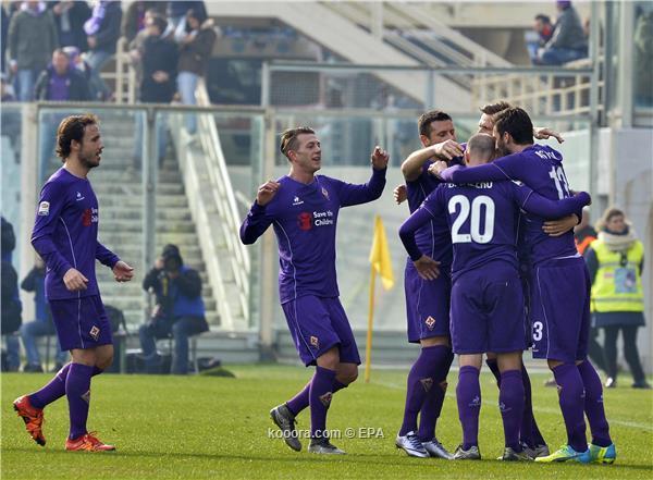 الدوري الايطالي فيورنتينا يستعيد نغمة الانتصارات على حساب تورينو<br />