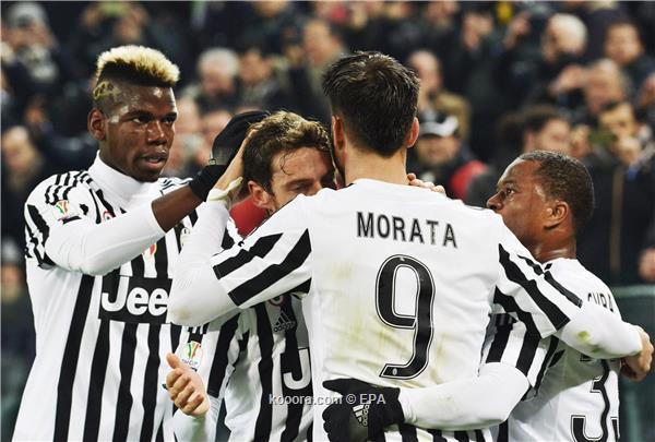 يوفنتوس يضع قدماً في نهائي كأس إيطاليا بثلاثية في شباك الإنتر<br />