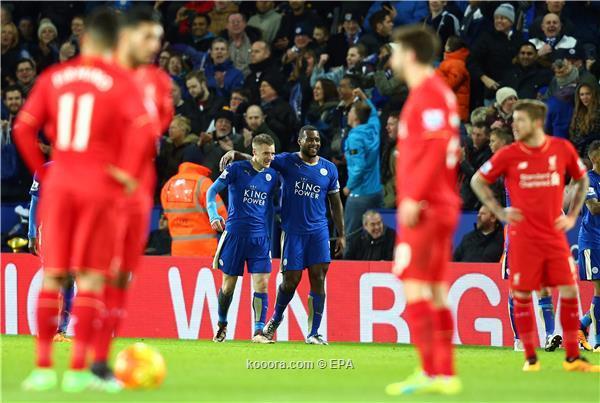 الدوري الانجليزي : ليستر سيتي يحكم قبضته بالصداره بفوز علي ليفربول