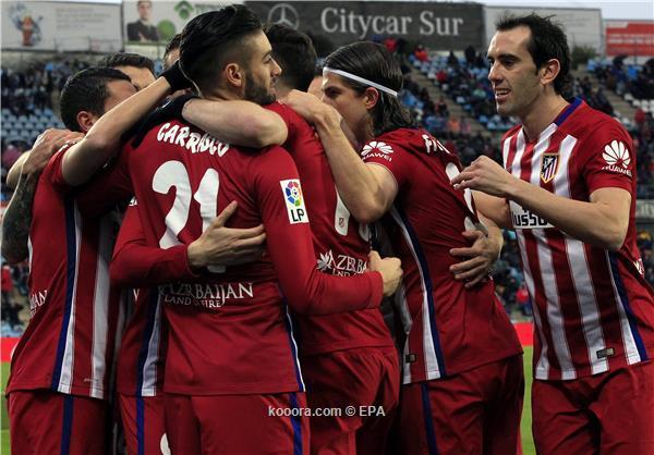 الدوري الاسباني أتلتيكو مدريد يهزم خيتافي ويستعيد وصافة الليجا من الريال<br />