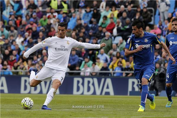 رونالدو ينقذ الريال فى الوقت القاتل ويسجل هدف رائع امام خيتافي ,أهداف مباراة خيتافي وريال مدريد