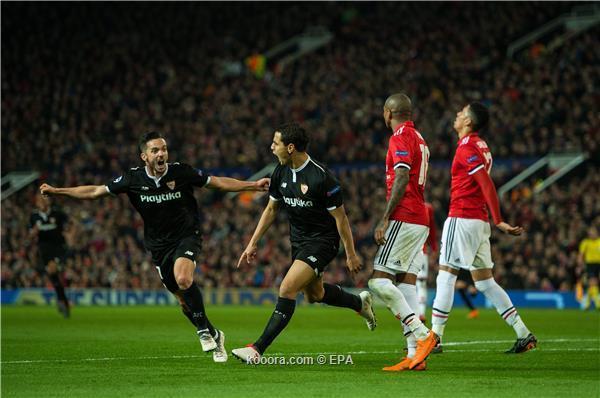 مانشستر يونايتد يسقط امام اشبيلية
