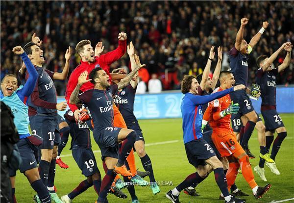 سان جيرمان يذل موناكو ويسترد لقب الدوري الفرنسي