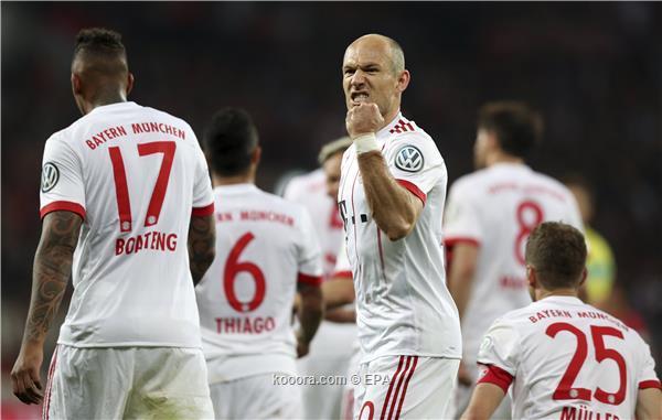 بايرن ميونخ يكتسح ليفركوزن ويتأهل لنهائي كأس ألمانيا