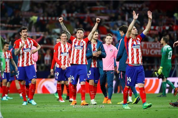أتلتيكو مدريد يغتال حلم آرسنال ويبلغ نهائي الدوري الأوروبي