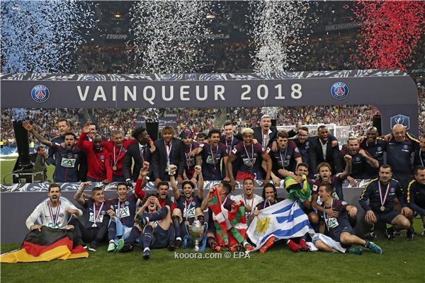 سان جيرمان يقتل أحلام ليزيربيي ويحتكر كأس فرنسا