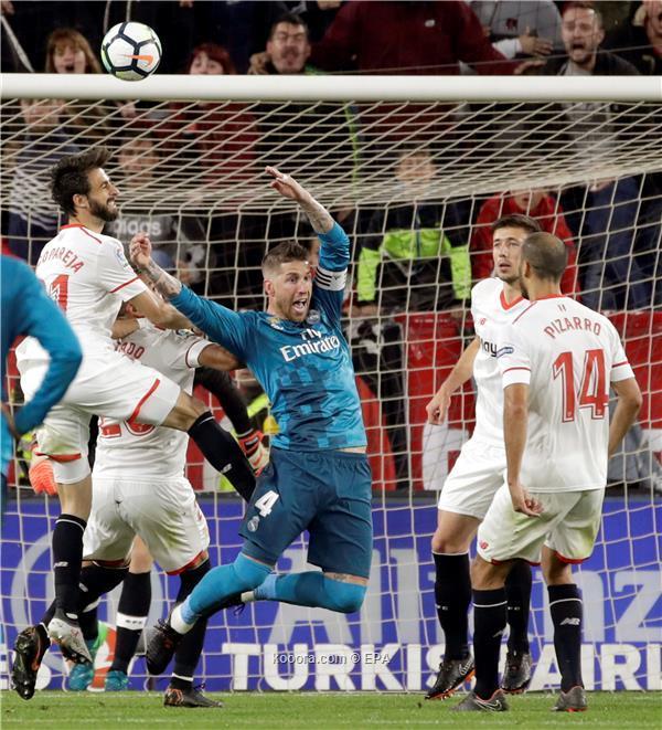 إشبيلية يقهر ريال مدريد بثلاثية