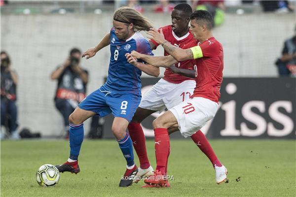 بسداسية الاوربية (اهداف المباراة) سويسرا