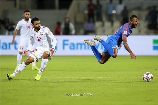 البحرين تفوز الهند بالوقت القاتل