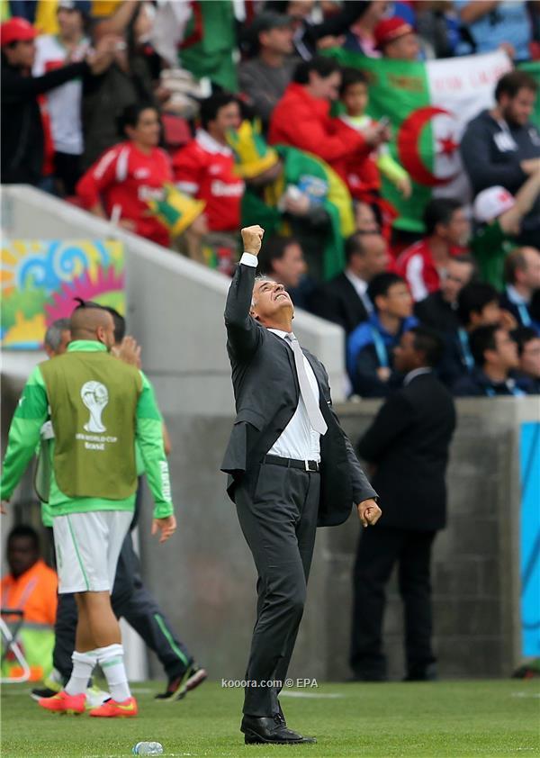 خاليلوزيتش يهدي الفوز للجزائريين وعائلته