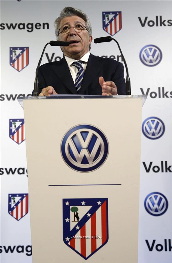 تصريحات سااخنة رئيس اتلتيكو مدريد قبل مواجهة البرصا