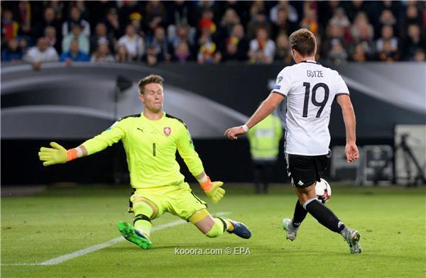 بالصور: مولر يقود ألمانيا لاكتساح بالصور: مولر يقود ألمانيا لاكتساح