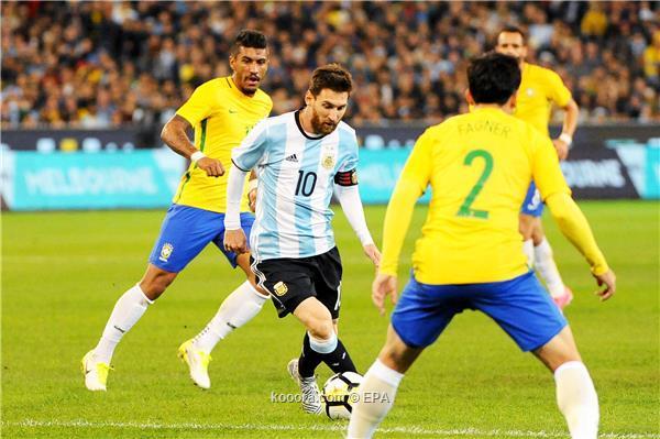 حضور جماهيري مباراة البرازيل والأرجنتين