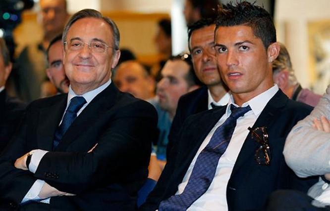 رئيس ريال مدريد يحدد موعد رحيل كريستيانو رونالدو