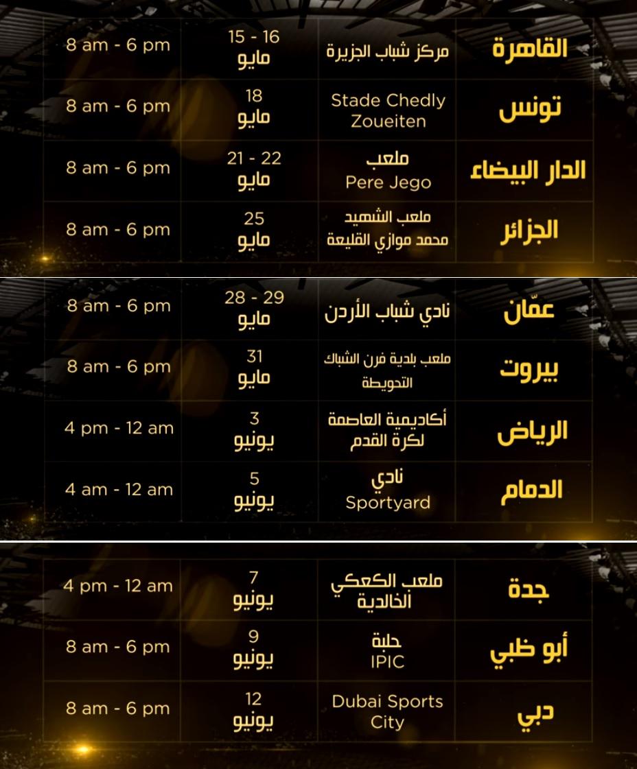انطلاق مواهب العرب النسخة الثانية فكتوريوس