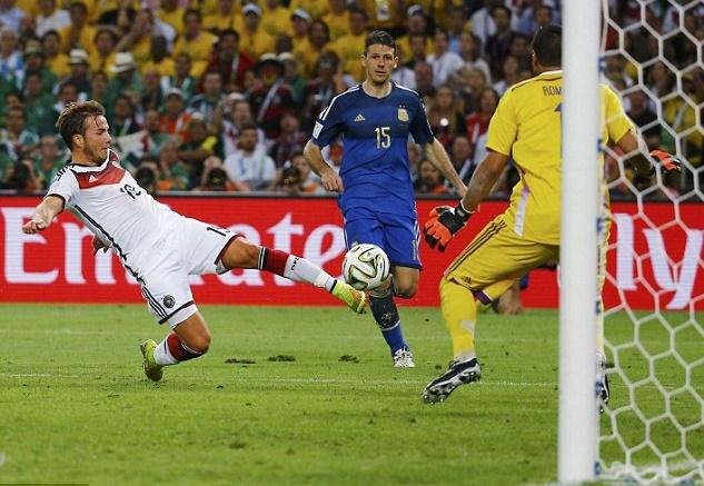نتيجة بحث الصور عن ماريو جوتزي في مونديال 2014