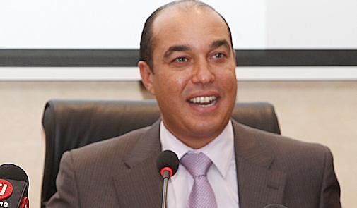وزير الرياضة المغربي  طالبنا تأجيل البطولة وليس إلغاءها ?i=jehad_omar%2fmohemed_ouzzine_ministre
