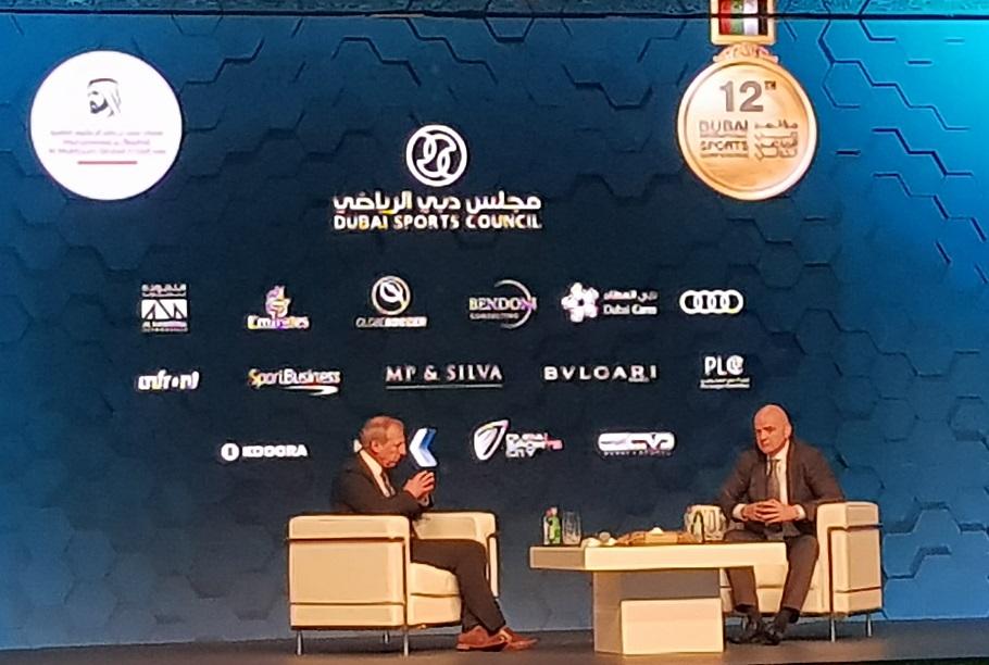 رئيس الفيفا في مؤتمر دبي: مونديال الأندية لا يفرز بطلا حقيقيا