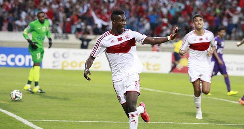 سائحون في الأندية أونداما عاشق الدوري المغربي
