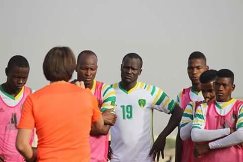 فوز نادي سنغالي على المرابطون في مباراة ودية